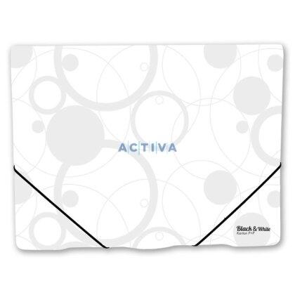 Obrázek produktu PP Black & White - desky na spisy - bilé
