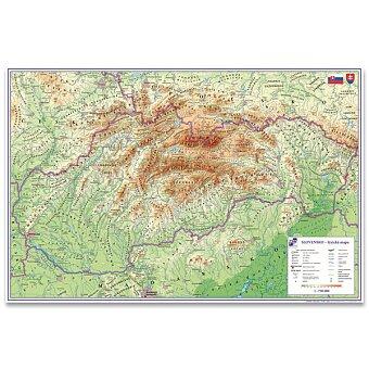 Obrázek produktu Podložka na stůl  mapa Slovenské republiky - 60 x 40 cm