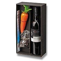 Wine Snowman Hruška - vinný set