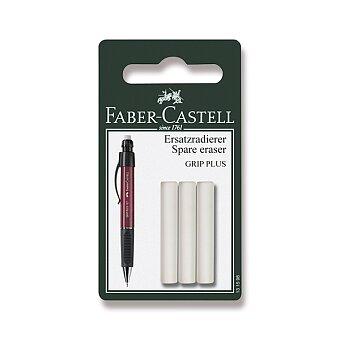 Obrázek produktu Náhradní pryž Faber-Castell Grip Plus - 3 ks