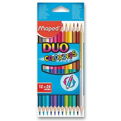 Obrázek produktu Maped Duo - oboustranné pastelky - 12 ks (24 barev)