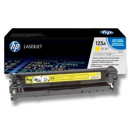 Obrázek produktu HP - toner CB542A, yellow (žlutý) č. 125A pro laserové tiskárny