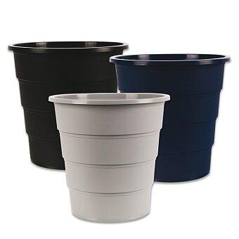 Obrázek produktu Plastový odpadkový koš Donau - objem 16 l, výběr barev