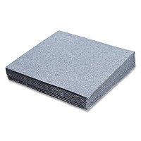 Stříbrné papírové ubrousky