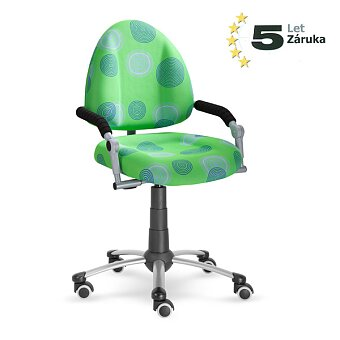 Obrázek produktu Rostoucí dětská židle Mayer Freaky - zelená se vzorem