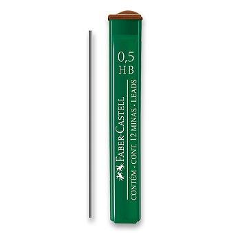 Obrázek produktu Grafitové tuhy Faber-Castell Mine Polymer - 0,5 mm, různá tvrdost