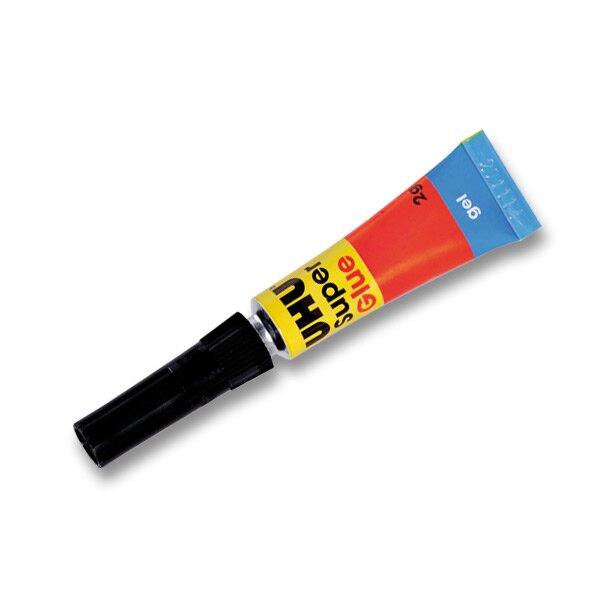 Vteřinové lepidlo Uhu Super Glue 2 g, gel