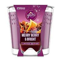 Vonná svíčka Glade Merry Berry & Bright