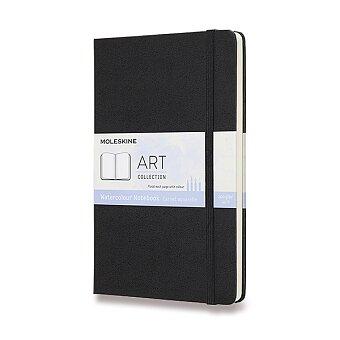 Obrázek produktu Skicář Moleskine Watercolour Notebook - L, černý