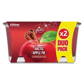 Obrázek produktu Vonné svíčky Glade Arctic Apple Pie - 2 ks, 129 g