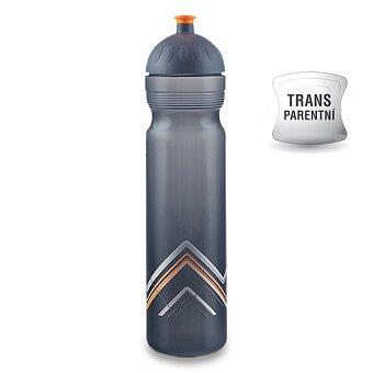 Obrázek produktu Zdravá lahev BIKE 1,0 l - Hory, oranžová