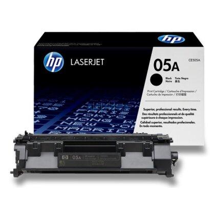 Obrázek produktu HP - toner CE505A, black (černý) č. 05A pro laserové tiskárny