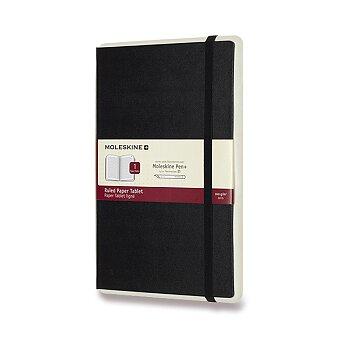 Obrázek produktu Zápisník Moleskine Smart Writing - L, linkovaný, černý