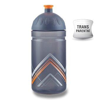Obrázek produktu Zdravá lahev BIKE 0,5 l - Hory, oranžová
