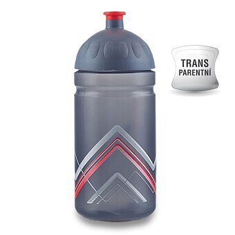 Obrázek produktu Zdravá lahev BIKE 0,5 l - Hory, červená