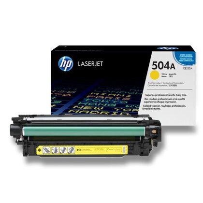 Obrázek produktu HP - toner CE252A, yellow (žlutý) č. 504A pro laserové barevné tiskárny
