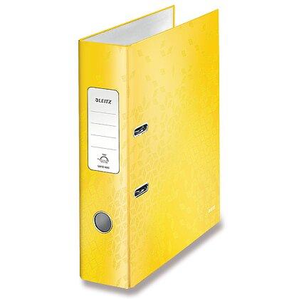 Obrázek produktu Leitz Wow - pákový pořadač - 80 mm, žlutý