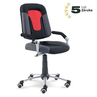 Obrázek produktu Rostoucí dětská židle Mayer Freaky Sport - černá / červená