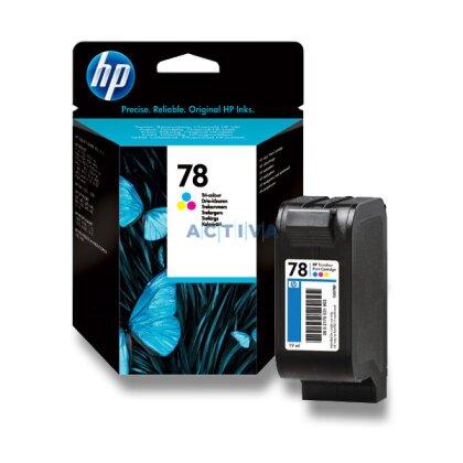 Obrázek produktu HP - cartridge C6578DE, color č. 78 (barevná) pro inkoustové tiskárny