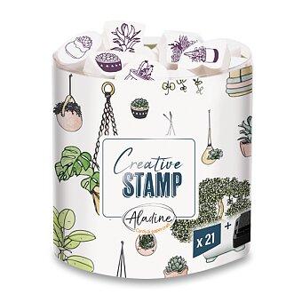 Obrázek produktu Razítka Creative Stamp - Rostliny, 21 ks
