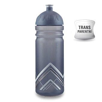 Obrázek produktu Zdravá lahev BIKE 0,7 l - Hory, šedá