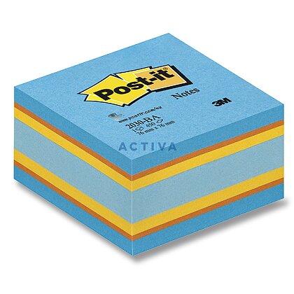 Obrázok produktu 3M Post-it - samolepiaci bloček - 76 x 76 mm, 450 l., Rainbow Blue