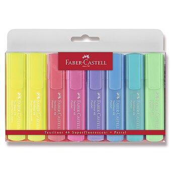 Obrázek produktu Zvýrazňovač Faber-Castell Textliner 1546 - 8 kusů, pastelové
