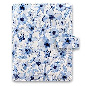 Obrázek produktu Kapesní diář Filofax Indigo Floral A7
