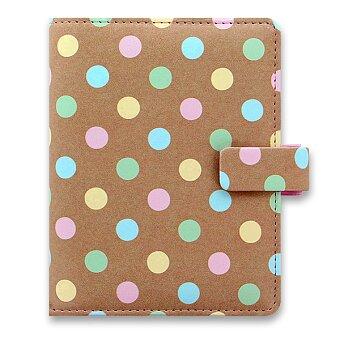 Obrázek produktu Kapesní diář Filofax Pastel Spots A7