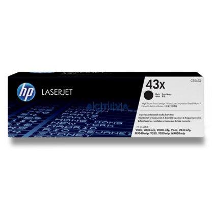 Obrázek produktu HP - toner C8543X, black (černý) č. 43X pro laserové tiskárny