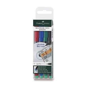 Obrázek produktu Permanentní popisovač Faber-Castell 1523 S - 4 barevy