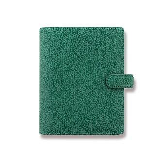 Obrázek produktu Kapesní diář Filofax Finsbury A7 - zelený