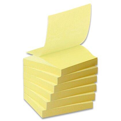 Obrázek produktu 3M Post-it - recyklované Z-bločky - 76 × 76 mm, 6 × 100 l.