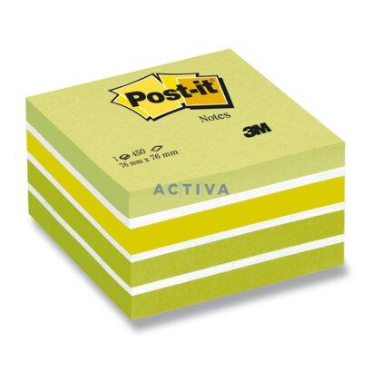 Obrázek produktu 3M Post-it Aquarelle - samolepicí bloček - 76×76 mm, Aquarelle Green