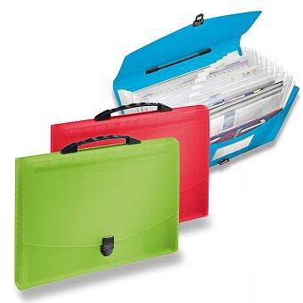 Obrázek produktu Aktovka na dokumenty Esselte Vivida - A4, 12 přihrádek, výběr barev