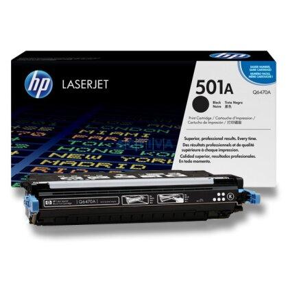 Obrázek produktu HP - toner Q6470A, black (černý) č. 501A pro laserové tiskárny