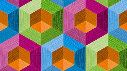 Geometrické omalovánky ColorPeps