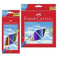Trojhranné pastelky Faber-Castell