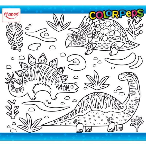 Omalovánky ColorPeps dinosauři