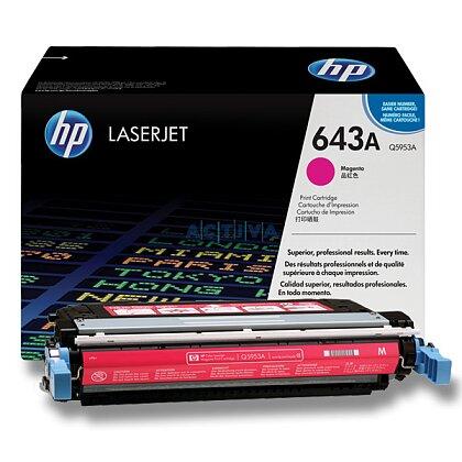 Obrázek produktu HP - toner Q5953A, magenta (červený) č. 643A pro laserové tiskárny