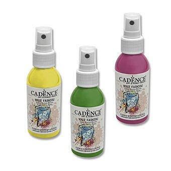 Obrázek produktu Barvy na textil Cadence Your Fashion - 100 ml, výběr barev