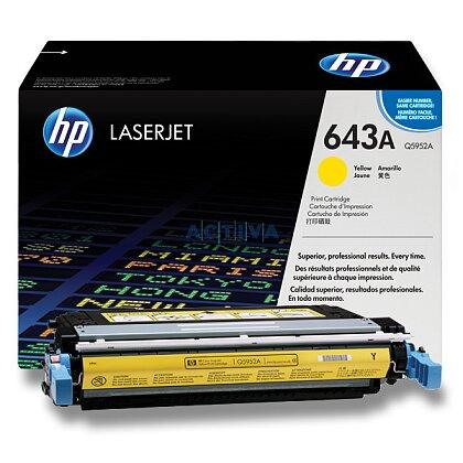 Obrázek produktu HP - toner Q5952A, yellow (žlutý) č. 643A pro laserové tiskárny