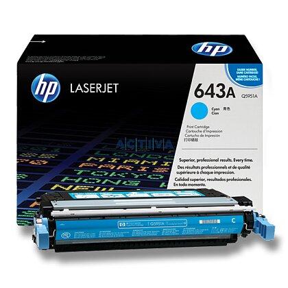 Obrázek produktu HP - toner Q5951A, cyan (modrý) č. 643A pro laserové tiskárny