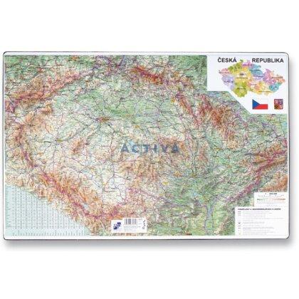 Obrázek produktu PP - stolní podložka - mapa ČR