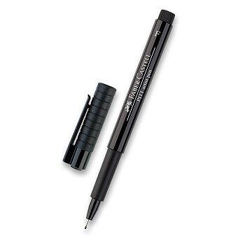 Obrázek produktu Popisovač Faber-Castell Pitt Artist Pen - F, černý