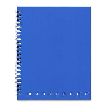 Obrázek produktu Kroužkový blok  Pigna Monocromo - A5, linka, 70 listů, mix barev
