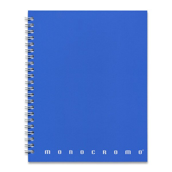 Kroužkový blok Pigna Monocromo A5, linkovaný, 70 listů, mix barev