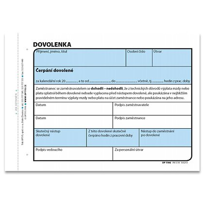 Product image Optys - ticket of leave