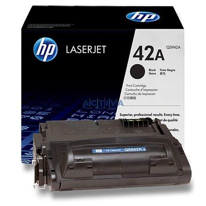 Obrázek produktu HP - toner Q5942A, black (černý) č. 42A pro laserové tiskárny