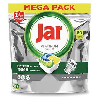 Obrázek produktu Kapsle do myčky Jar Platinum Yellow - 60 kapslí